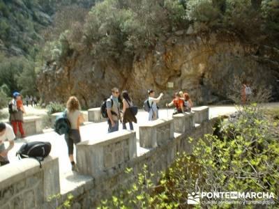 Río Borosa - Parque Natural de Cazorla; valle de la barranca